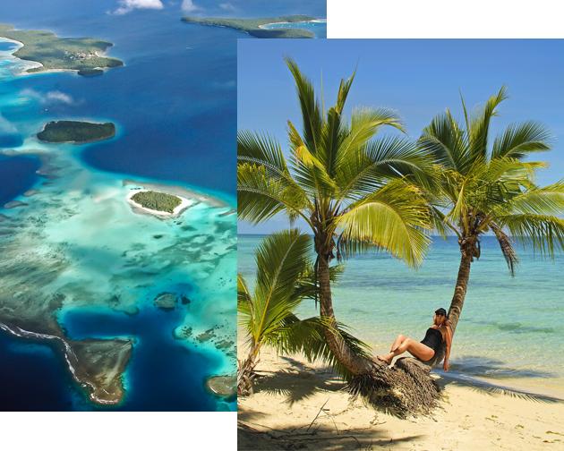 THE FIJI ISLANDS